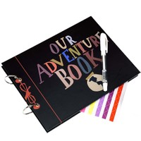 Patladı Gitti Our Adventure Book Tasarımlı Fotoğraf Albümü Anı Defteri, Kendin Yap Dıy