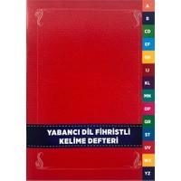 Karatay Yayınları Karatay Yabancı Dil Kelime Defteri Fihristli Karton Kapak 96 Syf
