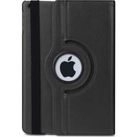 MobaxAksesuar Apple İpad 4 Kılıf 360 Dönebilen Standlı Case A1458 A1459 A1460 Siyah