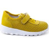 Minipicco Çocuk Sarı Deri Spor Ayakkabı