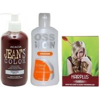 Acacia Jeans Color Saç Boyası Magenta 250ml ve Boya Temizleyici ve Saç Açıcı