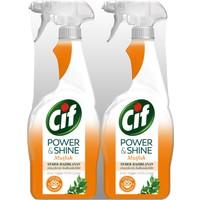 Cif Power & Shine Mutfak Sprey Temizleyici 750 ml 2'li Set
