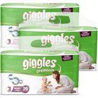 Giggles Premium Ikiz 3 Numara Midi X3 (108 )