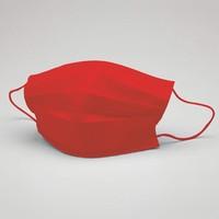 Kırmızı Yıkanabilir Maske (5 Adet)