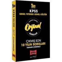 Yargı Yayınları 2021 KPSS Genel Yetenek Genel Kültür Orijinal Sorular Fasikül Tamamı Çözümlü Çıkmış Son 10 Yılın Soruları