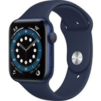 Apple Watch Seri 6 40mm GPS Blue Alüminyum Kasa ve Koyu Lacivert Kordon MG143TU/A