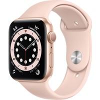 Apple Watch Seri 6 40mm GPS Gold Alüminyum Kasa ve Kum Pembesi Spor Kordon MG123TU/A