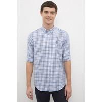 U.S. Polo Assn. Erkek Beyaz Gömlek Uzunkol 50231411-VR011