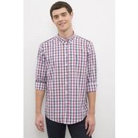 U.S. Polo Assn. Erkek Kırmızı Gömlek Uzunkol 50231343-VR030