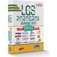Master Karma Yayınları LGS Paragraf Deneme Seti 15 Farklı Yayın 15 Farklı Deneme