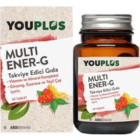 Youplus Multi Ener-G Multivitamin 30 Tablet