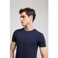 Ds Damat Slim Fit Lacivert T-shirt