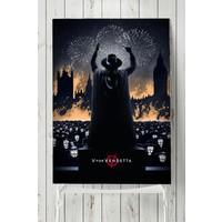 Postermanya V For Vendetta Film Afişi Poster 60 x 90 cm