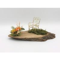 Afloday Şifa Bahçesi Çiçekli Tasarım Obje