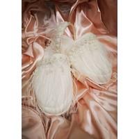 Asimod Kadın Bride Tüylü Terlik Set