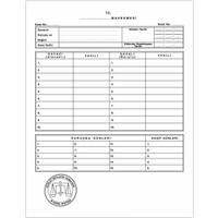 Kaya Mahkeme Dava İcra Avukat Dosyası Beyaz 1. Kalite 50'li