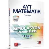 3D Yayınları AYT Matematik 10'lu Simülasyon Denemeleri Tamamı Video Çözümlü