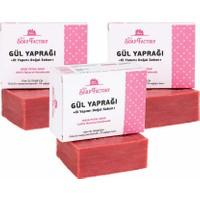 The Soap Factory El Yapımı Bitkisel Gül Sabunu 3 x 110 gr (Toplam 3 Adet)