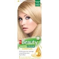Mm Beauty Bitkisel Saç Boyası M01-PLATIN Kumral