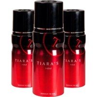 Tiaras For Him Deodorant 150 ml Erkek Deodorant X3