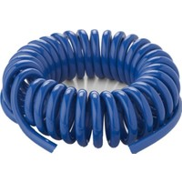 Plasyay Spiral Basınçlı Kompresör Hava Hortumu 8X14 mm - 5 M