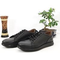 Hakiki Deri Bağcıklı Günlük Erkek Ayakkabı