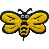 Toptan Keçe Arı Figürü 5 Adet Arı Süsü