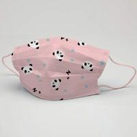 3nnn Hayvan Desen Yıkanabilir Çocuk Maske 5 Adet