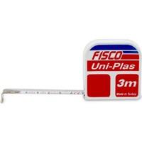 Fisco Uniplas   3 Metre Askılı Çelik Kısa Şerit Metre   UP3M/ASK