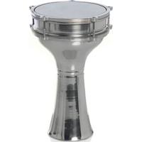 Mega Alüminyum Döküm Klasik Darbuka - Gümüş