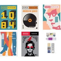 Haruki Murakami Seti 5 Kitap ( Defter + Ayraç )