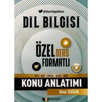 Başvuru Yayınları TYT AYT KPSS ALES DGS Dil Bilgisi Konu Anlatımı - Onur Soğuk