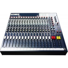 Soundcraft Fx16İi 16-Channel Live/Recording Audio Mixer With Effects