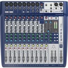 Soundcraft Signature 12 - 12 Kanal Efektli Deck Mikser