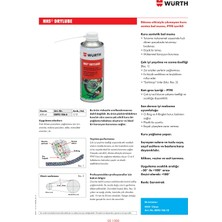 Würth Hhs Drylube - Kuru Zincir Yağlama 400 ml SKT:2022
