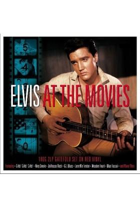 Elvis Presley - At The Movies (Kırmızı Renk 2 Lp) (Plak)
