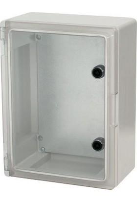 Çetinkaya Elektrik Panosu Abs Şeffaf Kapak IP65 40 x 50 x 17,5 cm Çp 5014