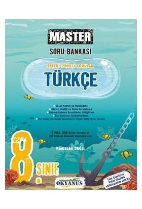 Okyanus Yayınları 8. Sınıf Master Türkçe Soru Bankası