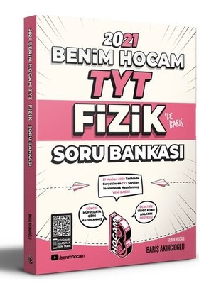 Benim Hocam Yayınları 2021 TYT Fizik Soru Bankası - Barış Akıncıoğlu