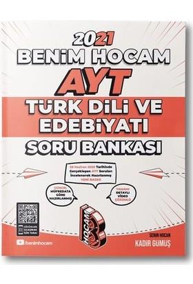 Benim Hocam Yayınları 2021 AYT Türk Dili ve Edebiyatı Soru Bankası - Kadir Gümüş