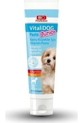 Bio Pet Active Vitalidog Junior Yavru Köpek Vitamin Macunu 100 ml