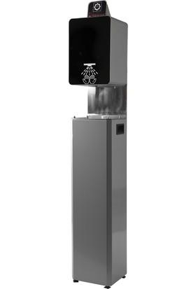 Hg Solution Pulvarize Konsollu Dispanser Metalik Gri