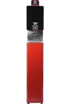 Hg Solution Pulvarize Konsollu Dispanser Kırmızı