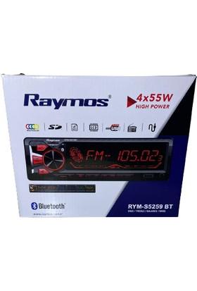 Raymos RYM-S5259BT Multıcolor, SD/MP3/LCD/BT 4X55W Oto Teyp