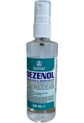 Sıhhat Dezenol Hidroalkolik El Antiseptiği Sıvı 100 ml Spreyli 42'li Koli