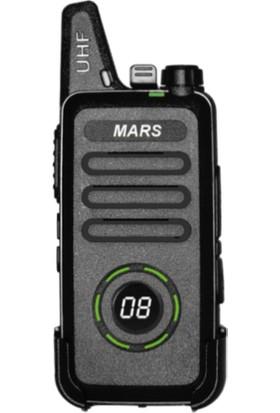 Mars Pro-446 Dijital Ekranlı Pmr Uzak Mesafeli El Telsizi