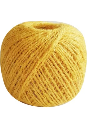 Kullan At Market Naturel Sarı Jüt İp 100grSarı