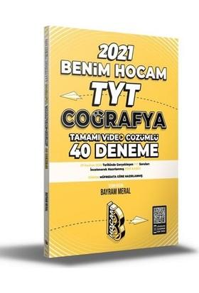 Benim Hocam Yayınları Tyt 2021 Coğrafya Tamamı Video Çözümlü 40 Deneme Sınavı - Bayram Meral