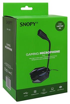 Snopy SN-110M LED Işıklı USB Masaüstü Mikrofon