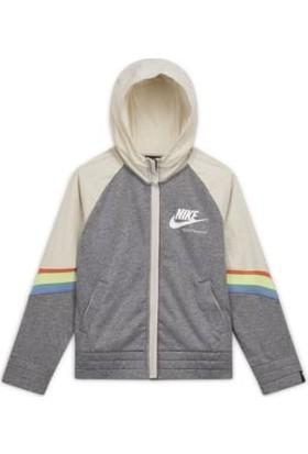 Nike Nsw Heritage Fz Hoodie Çocuk Sweatshirt CU8293-091